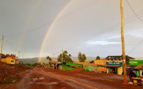 Regenbogen in Tabaka