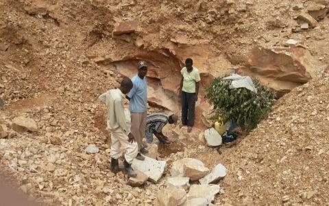 Steinbruch in Tabaka