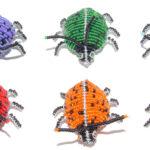 KE0002-64 Käfer Glasbeats 7x6 cm Kenia