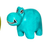 SP0014-2 Hippo mini unicolor sponged 2,5-3 cm Kenia